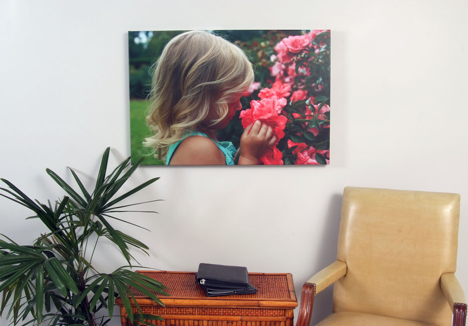 Example of a Custom Canvas Print